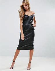 Leather Pencil Dress