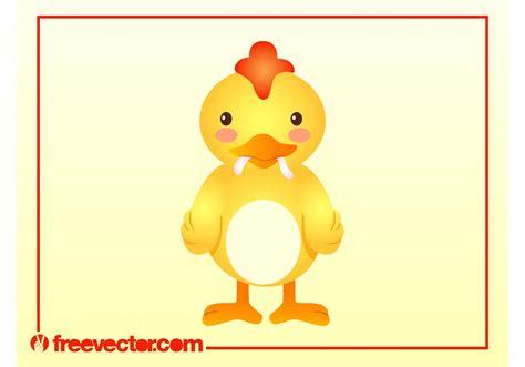 Vector de pollo de dibujos animados Descargue Gráficos y