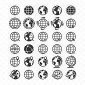foto de Globe Terrestre photos et illustrations Images libres de