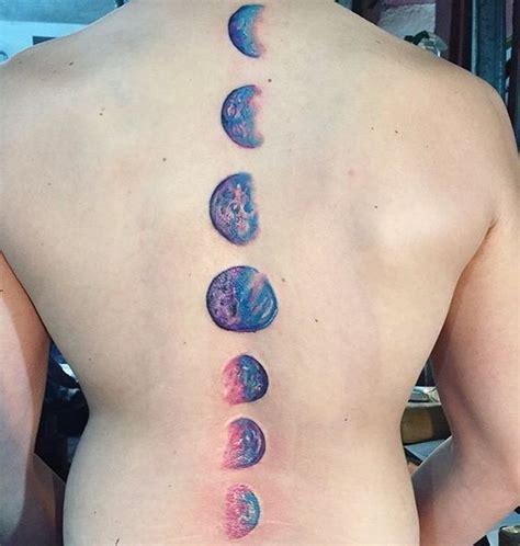 moon tattoo crescent moon  sun  stars tattoo september