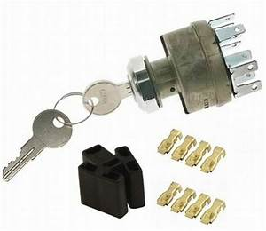Ignition Switch D Heavy Duty 4 Position Keyed Stainless