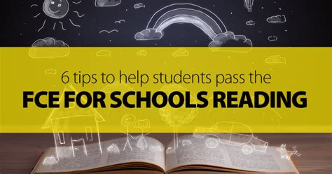 tips   students pass  fce  schools reading