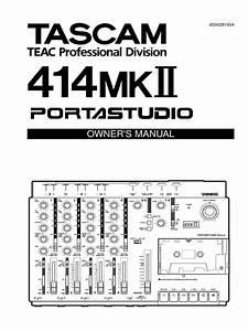 Portastudio 414mkii Manual  1