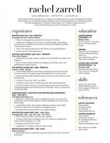 Two-Column Resume Template