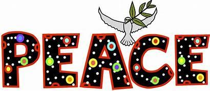 Peace Word Clip Clipart December Faith Advent