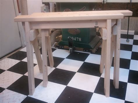 sawhorse plans newcastle woodworking