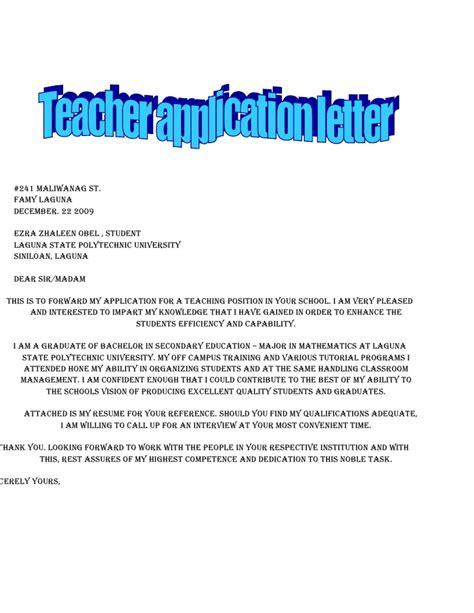 copy  application letter
