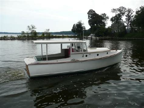 Cold Molded Boat by 2005 Bob Stephens Custom Downeast Cold Molded Picnic Boat