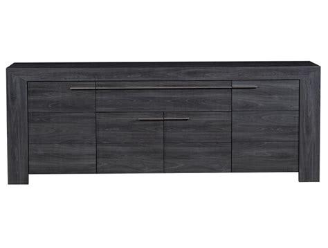 Black Wood Sideboard by Italian Home Design