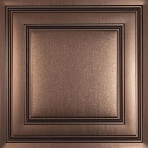 Ceilume Stratford Ceiling Tiles by Stratford Bronze Ceiling Tiles