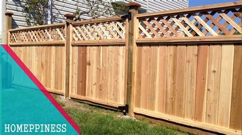 70+ Nice Wood Fence Panel