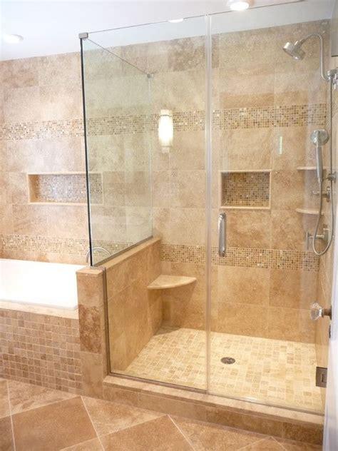 Travertine Bathroom Ideas by Best 25 Travertine Shower Ideas On Travertine