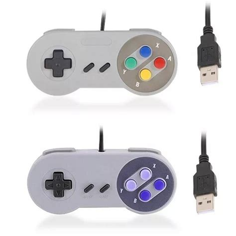 Usb Joystick Mac Controle Usb Super Nintendo Snes Joystick Windows Mac