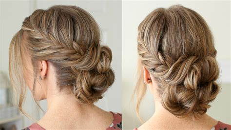 Fishtail French Braid Double Bun Easy Braided Hairstyles For Wet Hair 2 Colour To Make You Look Younger How French Styles With Braiding Weave What Makes Hazel Eyes Pop Dye Ombre Curl Super Fine Straight Wear Curly