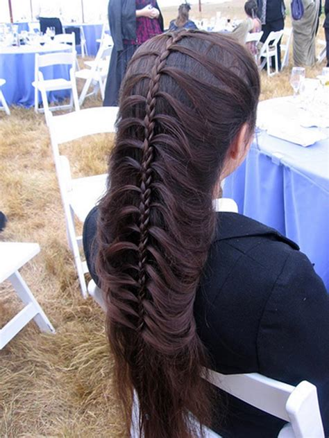 wedding day unique knot tail hairstyle xcitefunnet