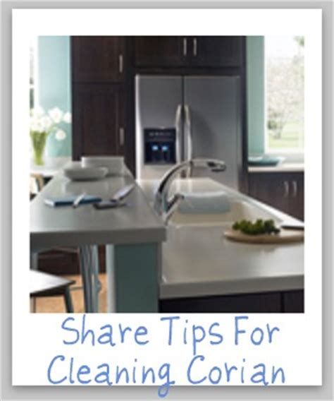 Cleaning Corian Tips And Hints