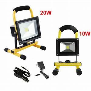 Dhl shipping w led floodlight outdoor cordless