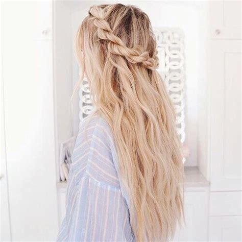 Adorable Beauty Blonde Braid Braided Braids Cute
