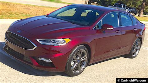 Fusion Sport Performance by 2017 Ford Fusion V6 Sport Review Command