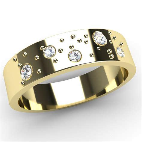 new fizzy 9ct yellow gold flat band wedding rings hallmarked ebay