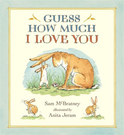 guess much sam mcbratney anita jeram books nutbrown hare amazon lullaby hardcover plush illustrated 20th anniversary edition bean bag gift