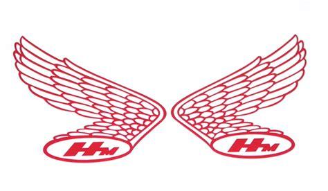 vintage honda logo honda classic wing tank sticker set red cb750 cb550 cb500