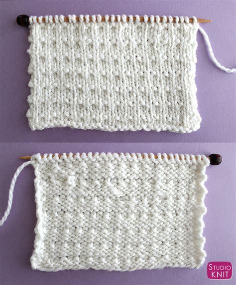 andalusian stitch knitting knit pattern studio yarn knitted beginners