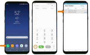 how to setup voice on android how to set up voicemail on galaxy s8 s8 galaxy s8