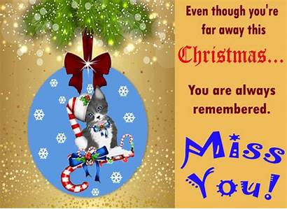 Miss Christmas Card Missing Cards Greetings Missyou