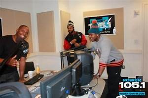 Mack Maine Visits DJ Self & DJ Clue From Power 105.1 ...