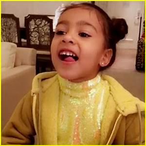 North West Models Kim Kardashian & Kanye West's Yeezy Kids ...