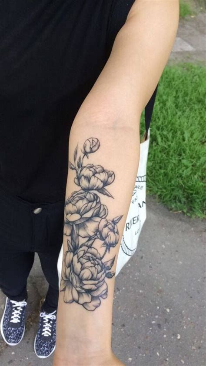 peonies tattoo ideas  pinterest flower tattoo