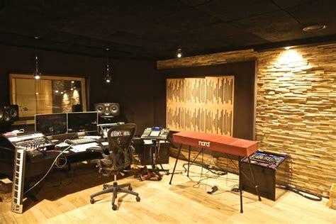 bureau studio musique déco pour studio enregistrement