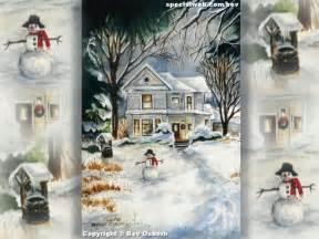 Free Christmas Desktop Scenes