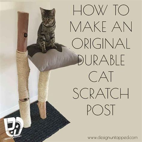 original  durable cat scratching post