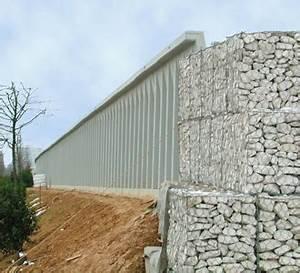 Mur Anti Bruit Végétal : murs en b ton anti bruit ~ Melissatoandfro.com Idées de Décoration