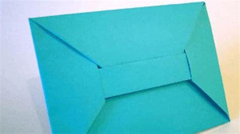 Enveloppe En Origami Comment Faire Une Enveloppe En Origami Facilement