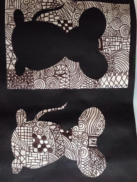 black  white kunst unterrichten kunst grundschule