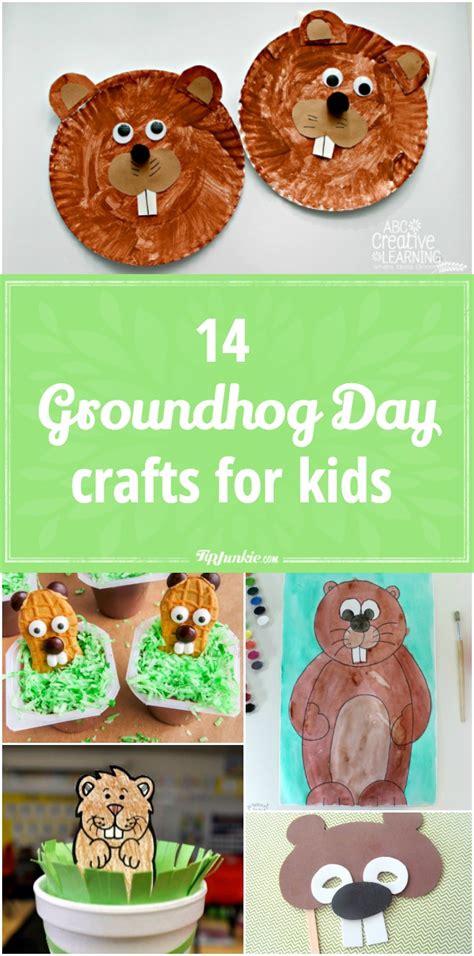 groundhog day crafts  kids tip junkie
