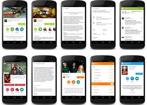 Android Mobile Store by Le Play Store 4 9 13 Introduit Des 233 L 233 Ments De