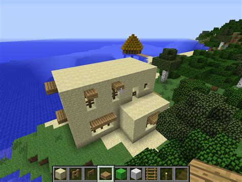 minecraft comment cr 233 er une maison arabique tr 232 s
