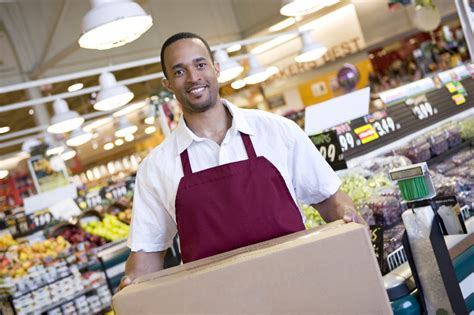 Suitable Duties For Supermarket Workers