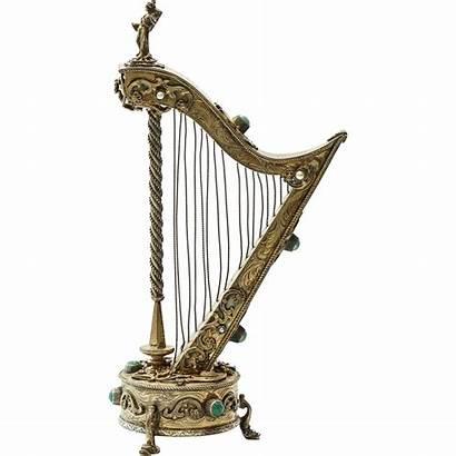 Antique Harp Austrian Shape