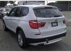 Export Used 2013 BMW X3 XDRIVE28I WHITE ON BLACK