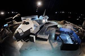 Full-Size Space Shuttle Exhibit Launching at Air Force ...