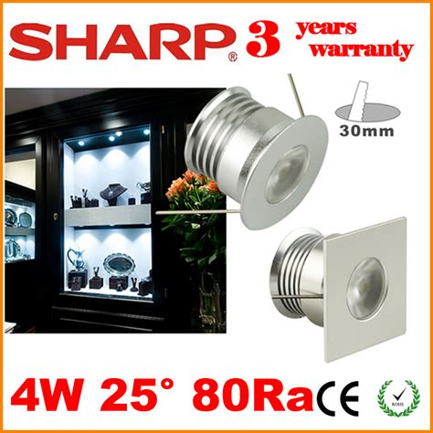 dhl sharp led cabinet light 25 degree 2700k 3000k