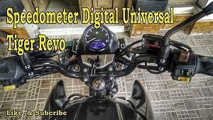 Speedometer Digital Universal Di Tiger Revo