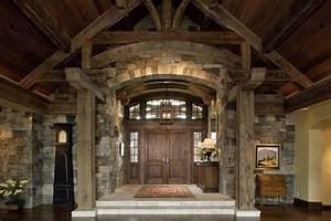 Interior Grand Entrance - Rustic - Entry - san francisco ...