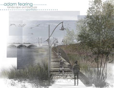 13243 landscape architecture portfolio cover landscape architecture portfolio by adam fearing issuu