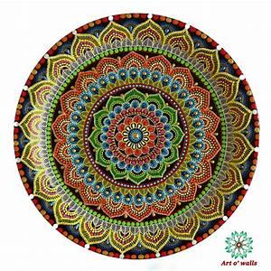 Mandala Decorative Plate Hanging   Exclusive